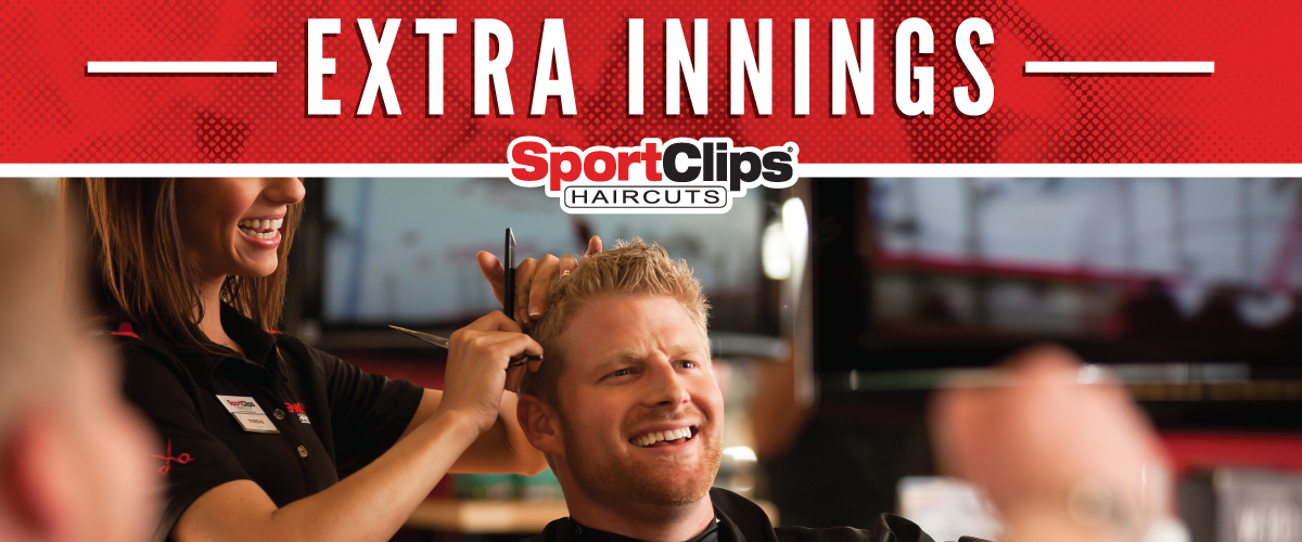 The Sport Clips Haircuts of Orland Park  Extra Innings Offerings